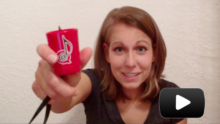 Ali Spagnola's Power Hour Drinking Game Shot Glass USB